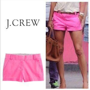J. Crew Chino Shorts Pink 6